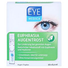 EYEMEDICA Euphrasia Augentrost Augentropfen 10x0.4 Milliliter - Vorderseite