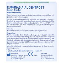 EYEMEDICA Euphrasia Augentrost Augentropfen 10x0.4 Milliliter - Rückseite