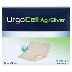 URGOCELL silver non Adhesive Verband 6x6 cm 20 Stück - Vorderseite