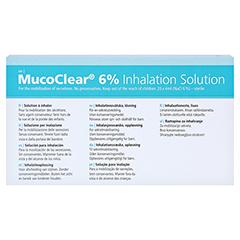 MUCOCLEAR 6% NaCl Inhalationslösung 20x4 Milliliter - Rückseite