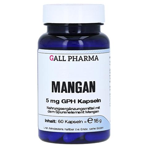 MANGAN 5 mg GPH Kapseln 60 Stück