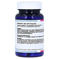 MANGAN 5 mg GPH Kapseln 60 Stück - Linke Seite