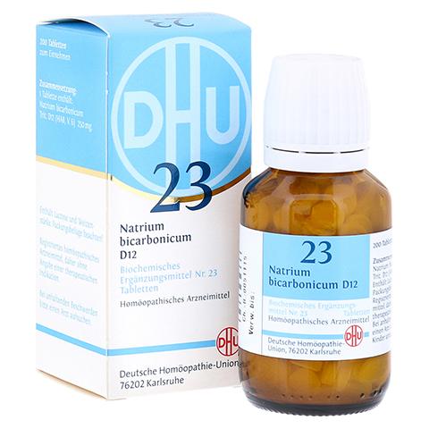BIOCHEMIE DHU 23 Natrium bicarbonicum D 12 Tabl. 200 Stück