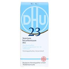 BIOCHEMIE DHU 23 Natrium bicarbonicum D 12 Tabl. 200 Stück - Vorderseite