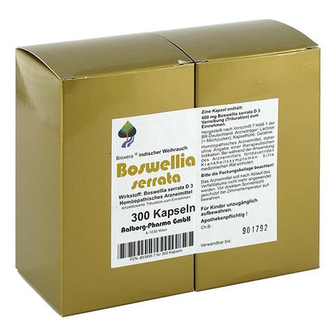 BOSWELLIA SERRATA Bioxera Kapseln 300 Stück N3