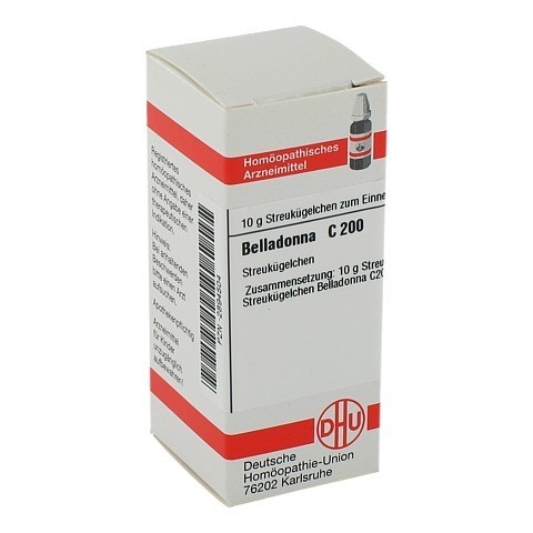 BELLADONNA C 200 Globuli 10 Gramm N1