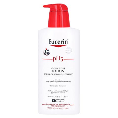 EUCERIN pH5 leichte Lotion empfindliche Haut 400 Milliliter
