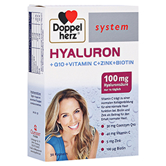 DOPPELHERZ Hyaluron system Kapseln 30 Stück