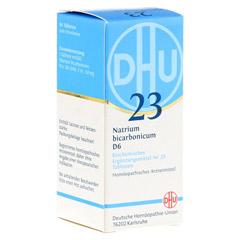 BIOCHEMIE DHU 23 Natrium bicarbonicum D 6 Tabl. 80 Stück