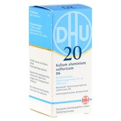 BIOCHEMIE DHU 20 Kalium alum.sulfur.D 6 Tabletten 80 Stück N1