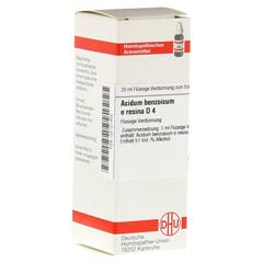 ACIDUM BENZOICUM E Resina D 4 Dilution 20 Milliliter N1