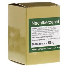 NACHTKERZENÖL 500 mg pro Kapsel 80 Stück