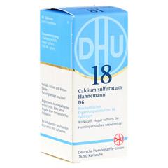 BIOCHEMIE DHU 18 Calcium sulfuratum D 6 Tabletten 80 Stück N1