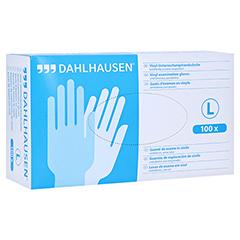 VINYL Handschuhe ungepudert Gr.L 100 Stück