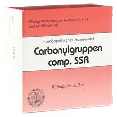 CARBONYLGRUPPEN comp. SSR Ampullen 10 Stück N1