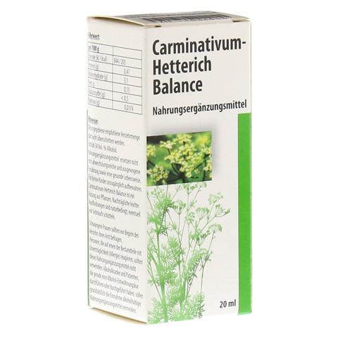 Carminativum Hetterich Balance Tropfen zum Einnehmen 20 Milliliter