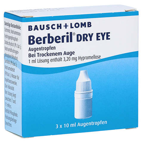 Berberil Dry Eye 3x10 Milliliter