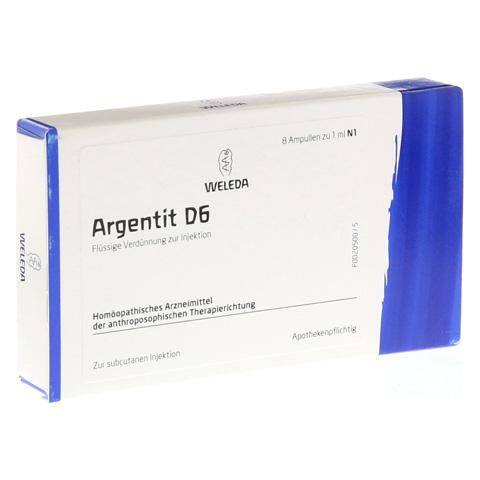 ARGENTIT D 6 Ampullen 8 Stück N1