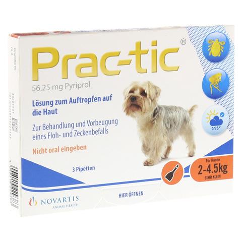 PRAC tic f.sehr kl.Hunde 2-4,5 kg Einzeldosispip. 3 Stück
