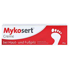 Mykosert bei Haut- und Fußpilz 20 Gramm N1 - Vorderseite
