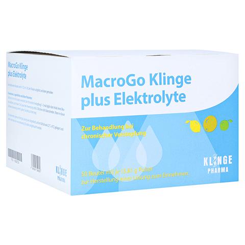 MACROGO Klinge plus Elektrolyte Plv.z.H.e.L.z.E. 50 Stück