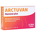 ARCTUVAN Mannose plus Sticks 14x5 Gramm