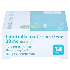 Loratadin akut-1A Pharma 7 Stück - Rechte Seite