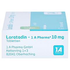 Loratadin-1A Pharma 20 Stück N1 - Rechte Seite