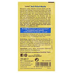 Luvos Heilerde Gesichtsmaske Beutel 15 Milliliter - Rückseite