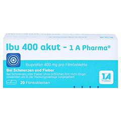 Ibu 400 akut-1A Pharma 20 Stück - Rückseite