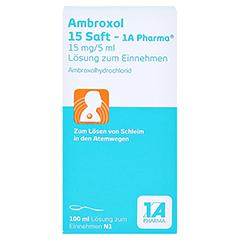 Ambroxol 15 Saft-1A Pharma 100 Milliliter N1 - Vorderseite