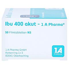 Ibu 400 akut-1A Pharma 50 Stück N3 - Rechte Seite