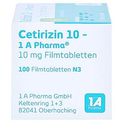 Cetirizin 10-1A Pharma 100 Stück N3 - Rechte Seite