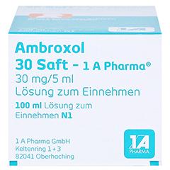 Ambroxol 30 Saft-1A Pharma 100 Milliliter N1 - Unterseite