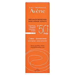 Avène Sunsitive Sonnencreme SPF 50+ ohne Duftstoffe 50 Milliliter - Vorderseite