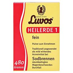 LUVOS Heilerde 1 fein 480 Gramm - Vorderseite