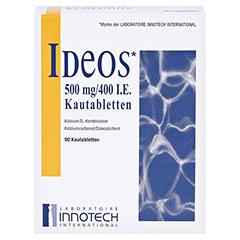 IDEOS 500 mg/400 I.E. Kautabletten 90 Stück - Vorderseite