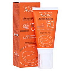 Avène Sunsitive Sonnencreme SPF 50+ getönt 50 Milliliter