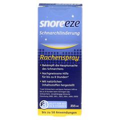 SNOREEZE Schnarchlinderung Rachenspray 23.5 Milliliter - Vorderseite