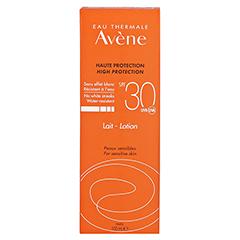 Avène Sunsitive Sonnenmilch SPF 30 100 Milliliter - Rückseite