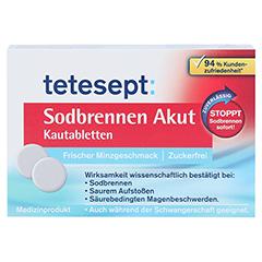 TETESEPT Sodbrennen Akut Kautabletten 20 Stück - Vorderseite