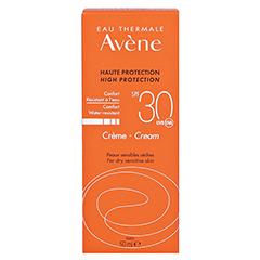 Avène Sunsitive Sonnencreme SPF 30 50 Milliliter - Rückseite