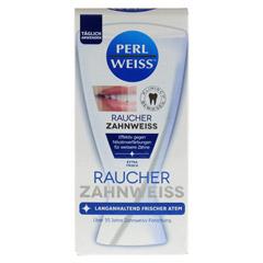 PERLWEISS Raucher Zahnweiß 50 Milliliter - Vorderseite