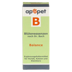 APOPET B Balance Blüteness.n.Dr.Bach Glob.vet. 12 Gramm - Vorderseite