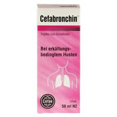 CEFABRONCHIN Tropfen zum Einnehmen 50 Milliliter N2 - Vorderseite