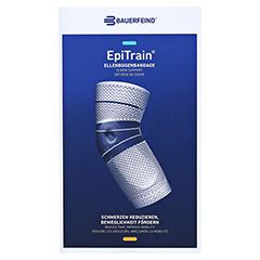 EPITRAIN Bandage Gr.6 schwarz 1 Stück - Vorderseite