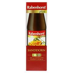 RABENHORST Sanddorn plus C-500 ungesüßt Saft 450 Milliliter - Vorderseite