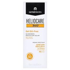 HELIOCARE 360° Gel oil-free SPF 50 50 Milliliter - Vorderseite