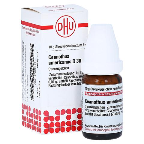 CEANOTHUS AMERICANUS D 30 Globuli 10 Gramm N1