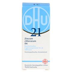 BIOCHEMIE DHU 21 Zincum chloratum D 6 Tabletten 80 Stück N1 - Vorderseite